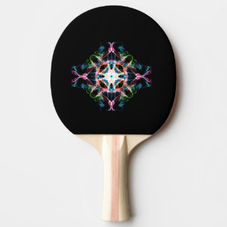 Ping Pong Paddle, Red Rubber Black