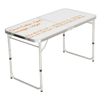 Ping Pong Table Own Color - uni White