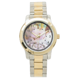 Pink Abalone Pastel Two-Toned Watch