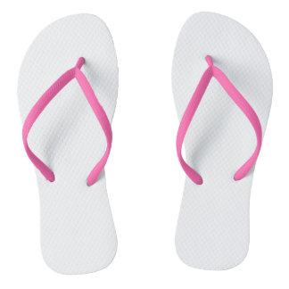 Pink Adult Flip Flops, Slim Straps Jandals