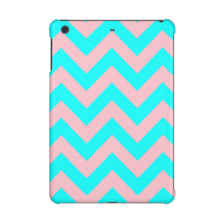 Pink and Aqua Chevron iPad Mini Retina Case