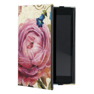 Pink and Blue Rose Cover For iPad Mini