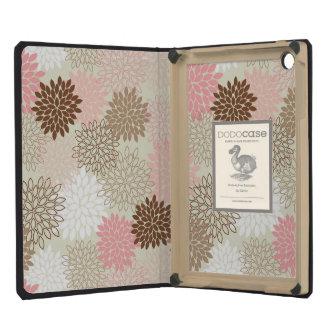 Pink And Brown Mum Pattern iPad Mini Retina Covers