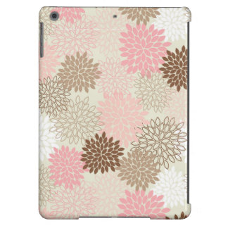 Pink And Brown Mum Pattern Case For iPad Air