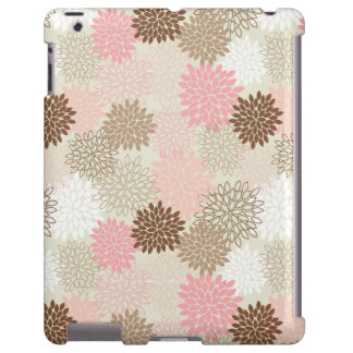 Pink And Brown Mum Pattern iPad Case