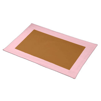 Pink and Brown Placemat