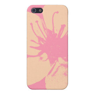 Pink and Cream Blossom Case For The iPhone 5