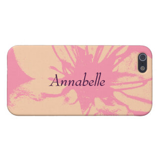 Pink and Cream Blossom iPhone 5/5S Cover