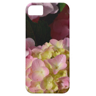 Pink and Cream Hydrangeas Barely There iPhone 5 Case