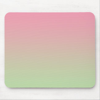 """Pink And Green Ombre"" Mouse Pad"