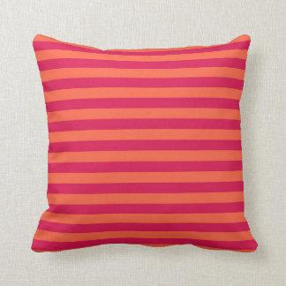 pink and orange cushions