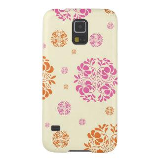Pink and Orange Floral Pattern Galaxy Nexus Cases