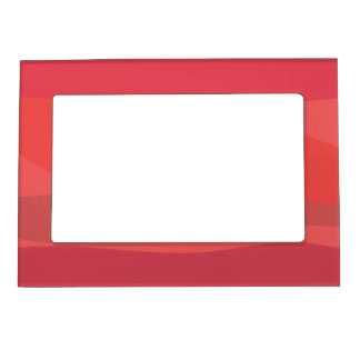 Pink and Orange Minimalism Magnetic Photo Frames