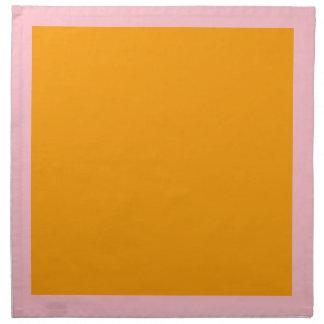 Pink and Orange Napkins