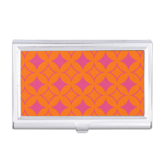 Pink and orange shippo business card cases