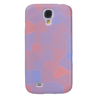 Pink and Purple Mosaic Abstract Galaxy S4 Case