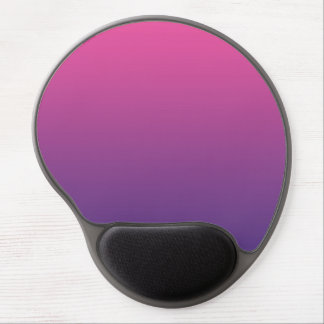 """""""Pink And Purple Ombre"""" Gel Mouse Pad"""