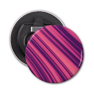 Pink and Purple Stripes Bottle Opener