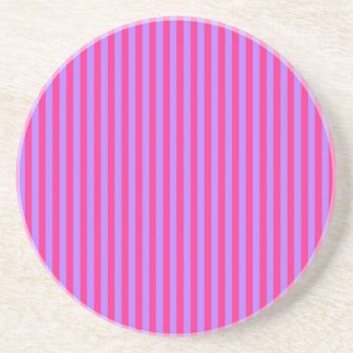 Pink and Purple Stripes Coaster