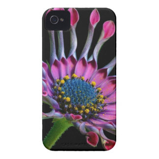 Pink and White Multi Petaled Flower iPhone 4 Case-Mate Cases