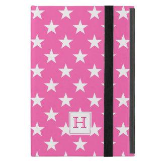 Pink And White Stars :Powis iCase iPad Mini Case