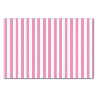 Pink and White Stripes | DIY Background Tissue Paper