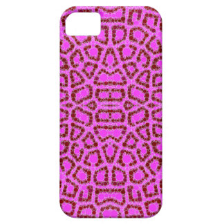 Pink Animal Print Abstract iPhone 5 Cases