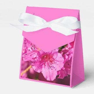 Pink Azaleas Favour Boxes