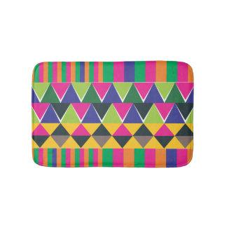pink Aztec multicolour print Bath Mats