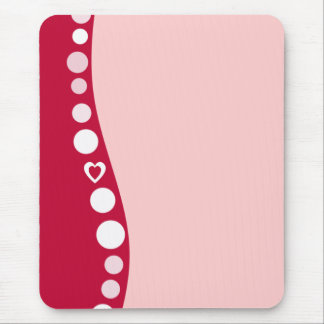Pink Back Lovers mousepad