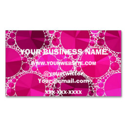 3000 bling business cards and bling business card templates pink bling magnetic business card colourmoves