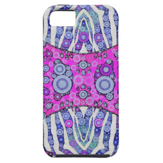 Pink Blue Animal Print iPhone 5 Cases