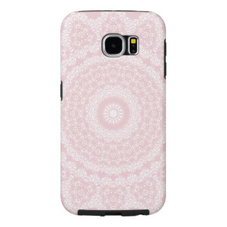 Pink Blush Lace Tough Samsung Galaxy S6 Cases