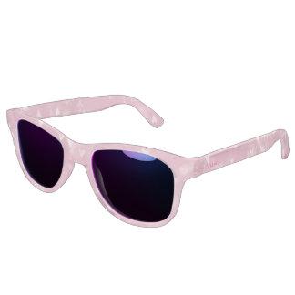 Pink Bokeh Custom monogram sunglasses