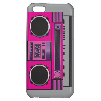 Pink Boombox iPhone 5C Cases
