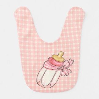 Pink Bottle Bib