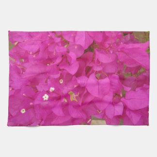 Pink Bougainvillea Flower (Greece) Tea Towel