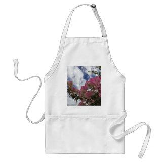 Pink bougainvillea standard apron
