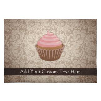 Pink/Brown Cupcake Placemat