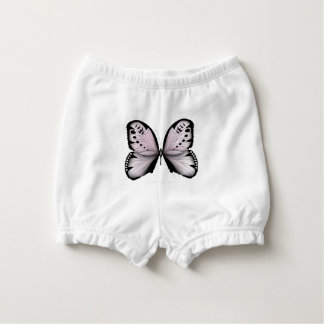 Pink Butterfly Rose Marsh Maid Nappy Cover