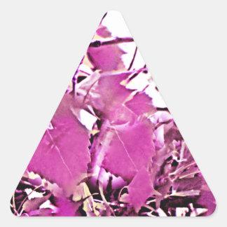 Pink Camo 3 Triangle Sticker