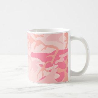 Pink Camo - Girly Camo Basic White Mug