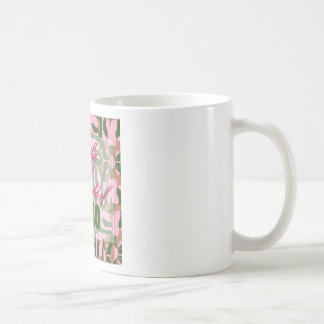 Pink Camo: I'm the pink in his world of camo Coffee Mugs
