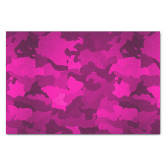 Pink Camo Tissue Paper
