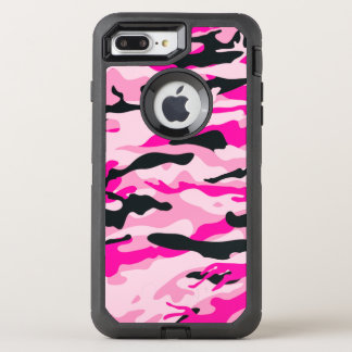 Pink Camouflage OtterBox Defender iPhone 8 Plus/7 Plus Case