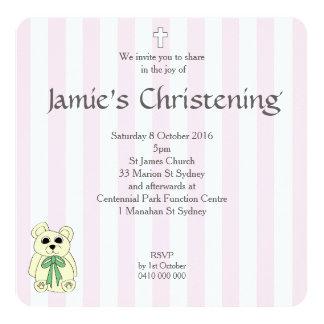 Pink Candy Teddy Card