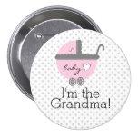Pink Carriage-Baby Shower Grandma