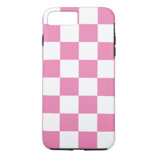 Pink Checkered iPhone 7 Plus Case