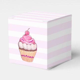 Pink Cherry Cupcake Box