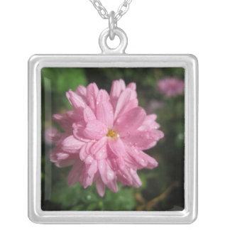 Pink Chrysanthemum Custom Jewelry